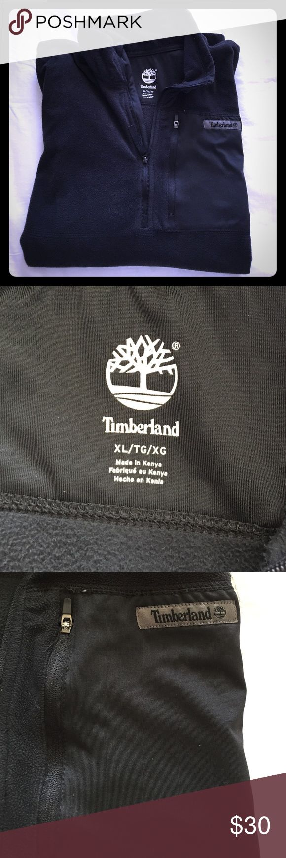 ♂️MEN'S TIMBERLAND SUPER SOFT FLEECE PULLOVER ♂️MEN'S TIMBERLAND SUPERSOFT FLEECE PULLOVER SIZE XL BLACK Timberland Shirts Sweatshirts & Hoodies