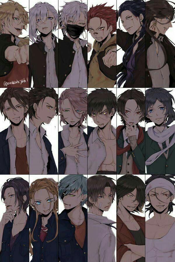 Kumpulan anime cowokcowok ganteng! fiksipenggemar