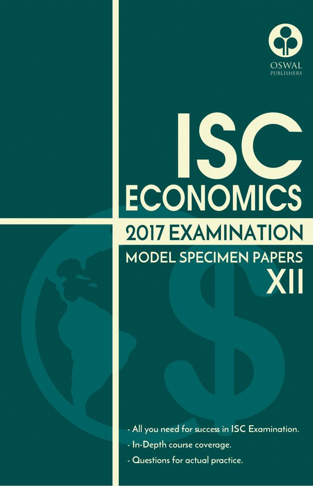 ISC Model Specimen Papers of Economics for Class XII