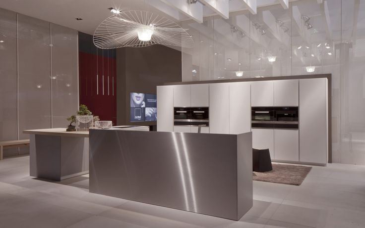 Glass cupboard doors to enhance the design of the kitchen  #Ak04 #glass #ArritalKitchen #design