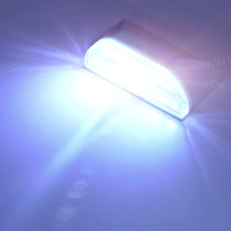 1 unid 4 led pir de detección de infrarrojos motion sensor de sistema de la cerradura de la puerta de luz de lámpara freeshipping estrenar
