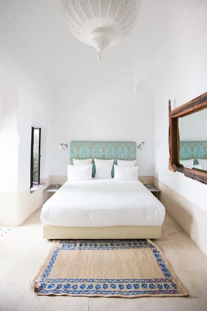 riad jaaneman. dormitorio noretnic en riad de Marrakech. daramina.es