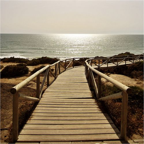 Playa de la Barrosa (Cádiz, Spain) by Nacho Iglesias, via Flickr