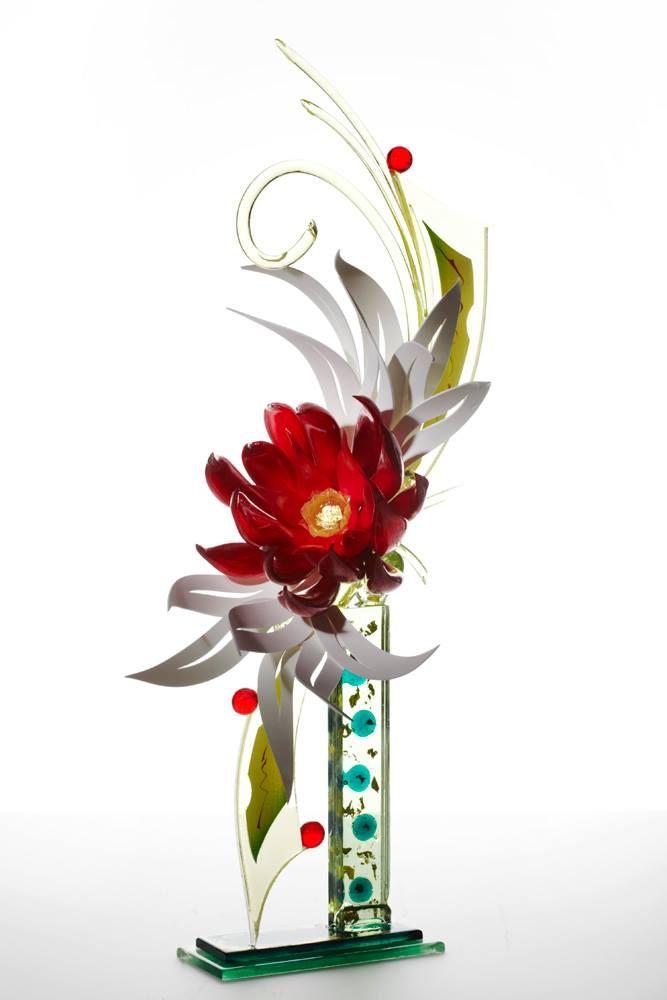 Incredible, Edible Sugar art by Foot Artist Ewald Notter! Colorful, floral sculpture! Food Art!