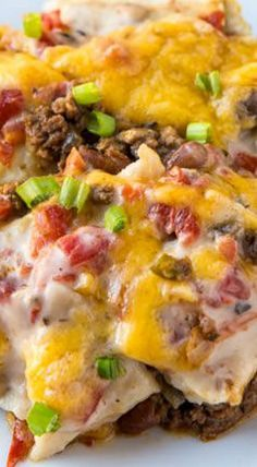 Firecracker Casserole- tasty, hearty fare for when you are in a pinch for time. Beefy, cheesy, creamy, and lush with a bit of a kick!