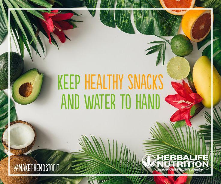 Keep on track with nutritious snacks. #MakeTheMostOfIt  #HerbalifeNutrition 🍉🍓  http://wu.to/E4SzlT