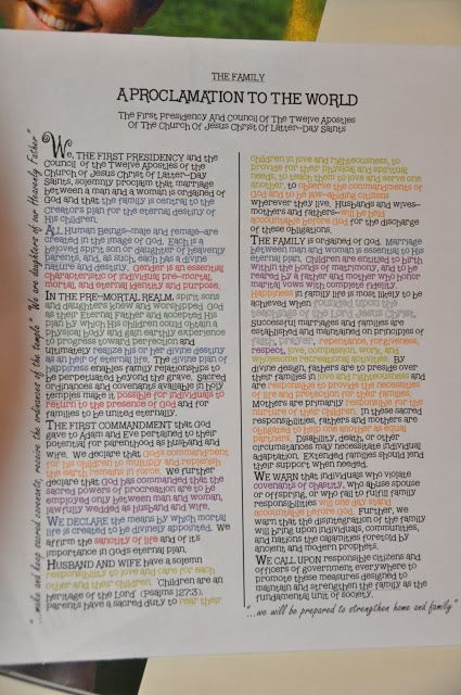 Boo Was Our Neighbor: Color Coding the Proclamation and more...
