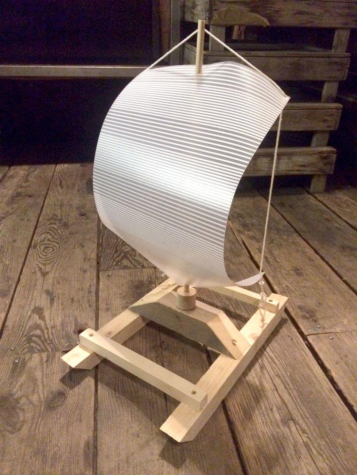 Jouet en bois - Petit bateau (catamaran) #atelierderene #larecyclerie #wood #diy #woodentoy #boat #woodworking #catamaran