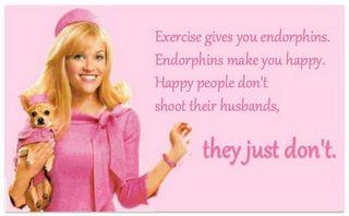 Jaymi Mullay: Endorphins vs. Prozac, health, fitness, depression, anxiety,