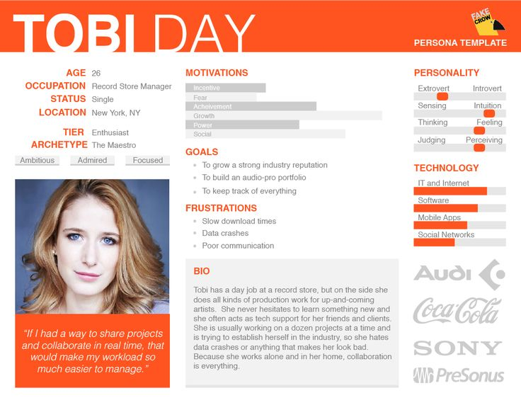 32 best Creating personas and examples images on Pinterest - user experience designer resume