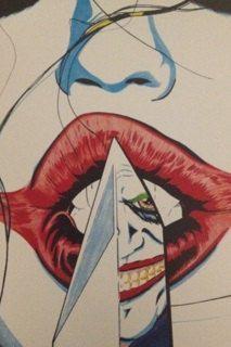 Sexy Harley Quinn Joker DC Comic Villains by SkylineIllustrations