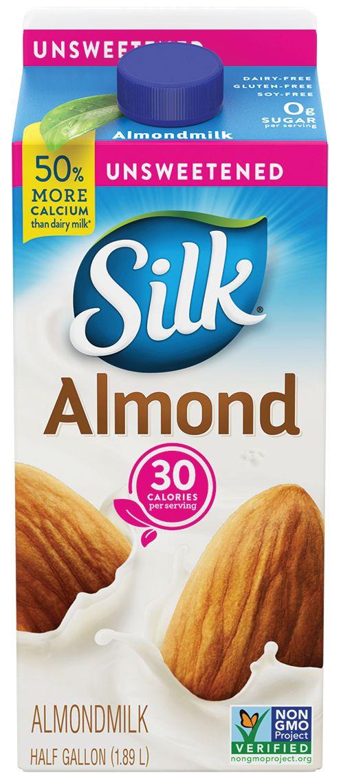 Whole30 Approved Almond Milk Brands | Silk Almond Milk