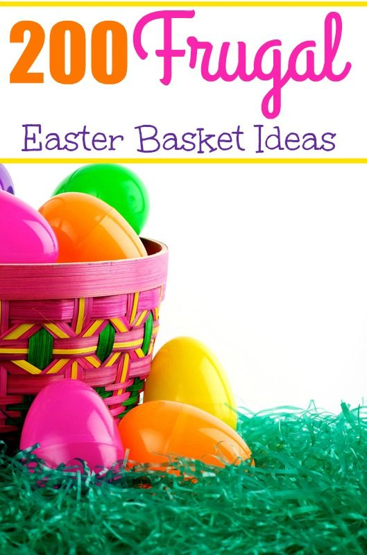 200 Frugal Easter Basket Ideas - Discover over 200 different items you can purchase or make to fill those Easter baskets without breaking the bank! Something for kids of all ages from babies to teens! | via HotCouponWorld.com