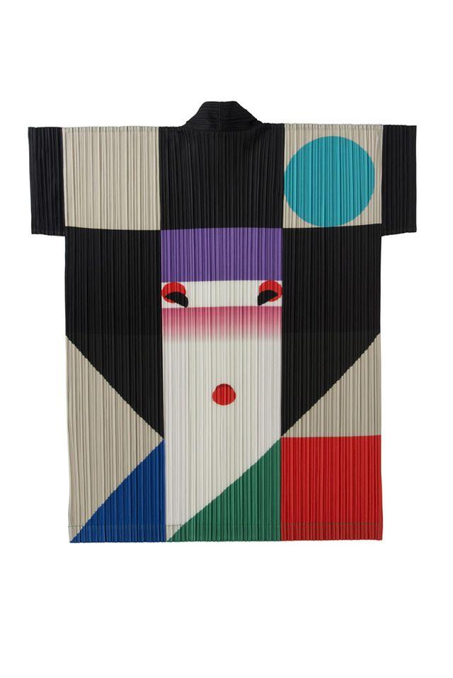Issey Miyake and Ikko Tanaka collaboration