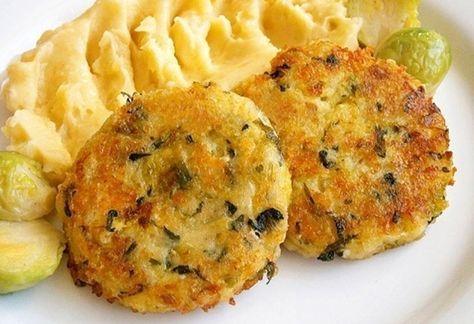 Kapustové karbanátky se sýrem a kuskusem