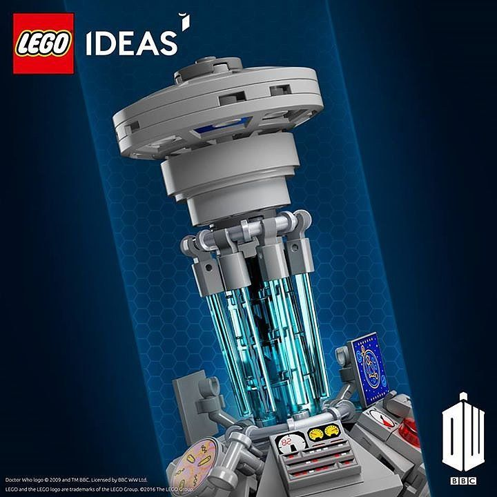 It's finally here! The Doctor Who Lego set can be part of our collection!