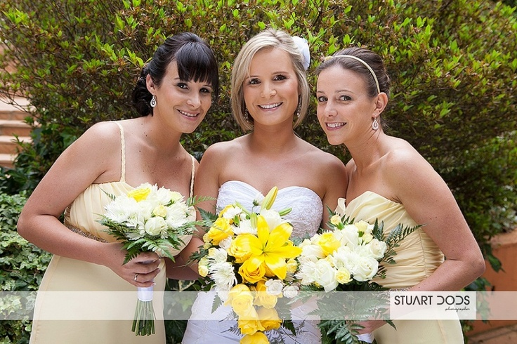 Gorgeous bridesmaids!