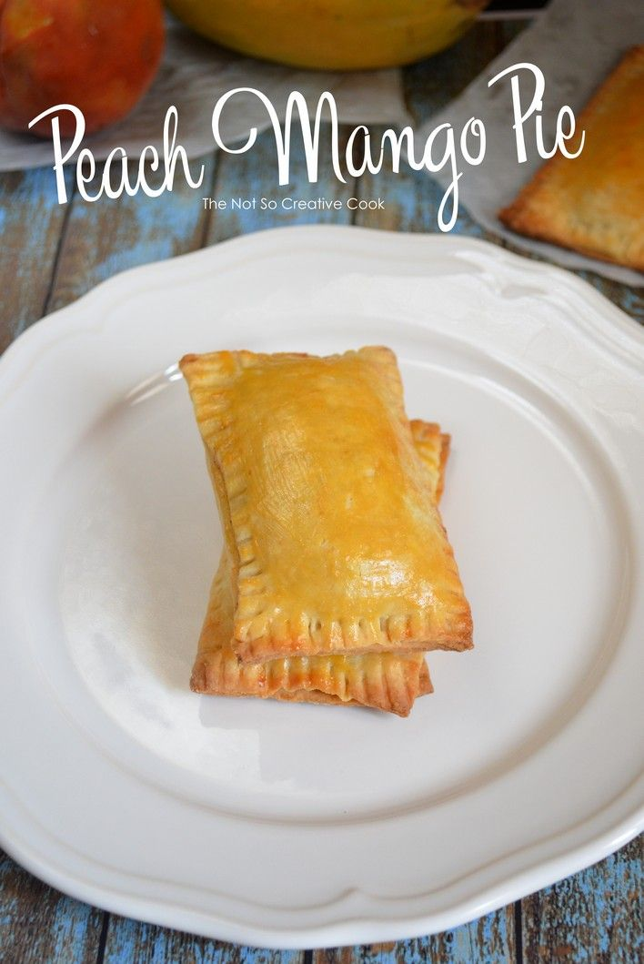 Peach Mango Pie-TheNotSoCreativeCook