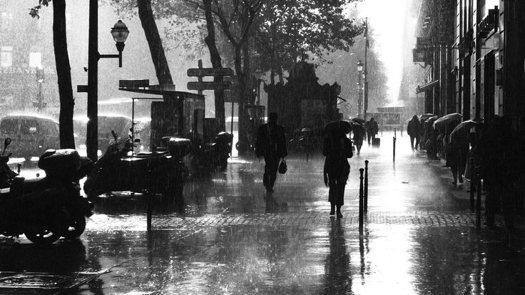Paris - Rainy day