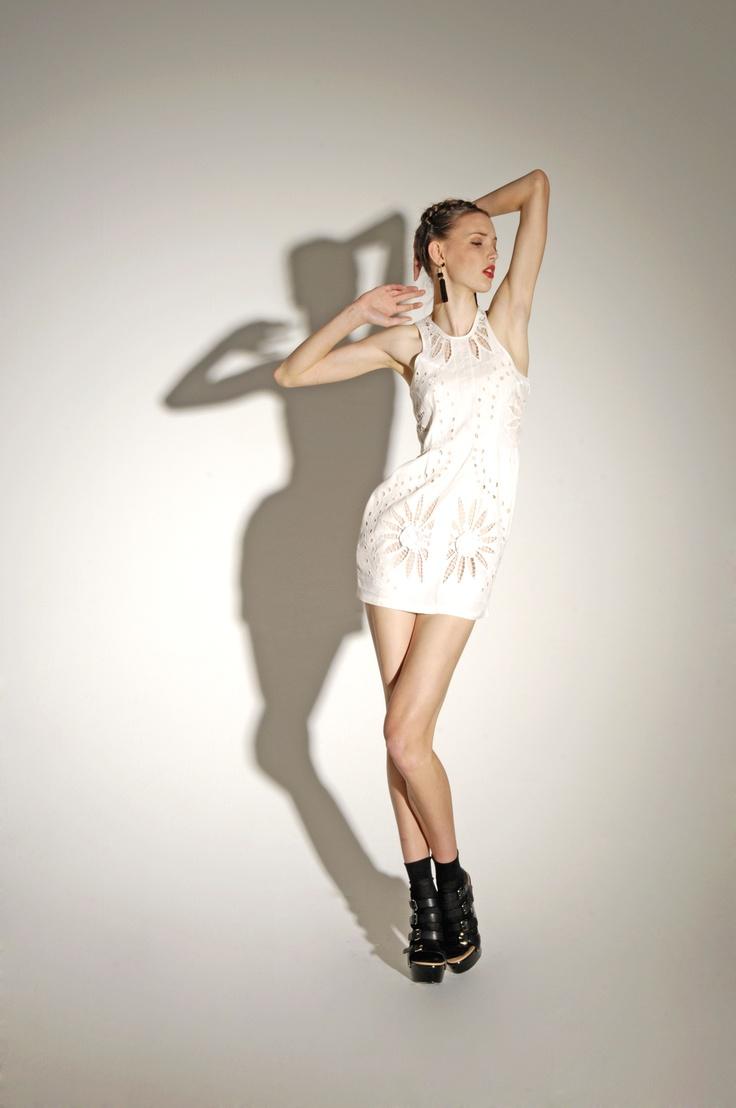 Detour!  Josette Dress (White) Pre-Order