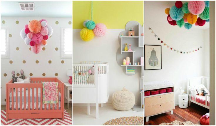 Decoración barata para bebés