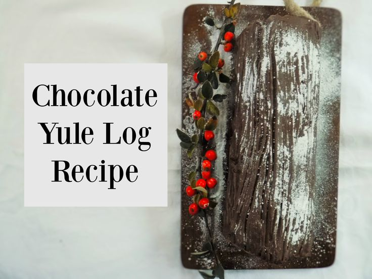 An alternative to Christmas Cake is Chocolate Yule Log. A simple recipe and some tips to make sure it doesn't crack! Make the perfect Christmas pudding!