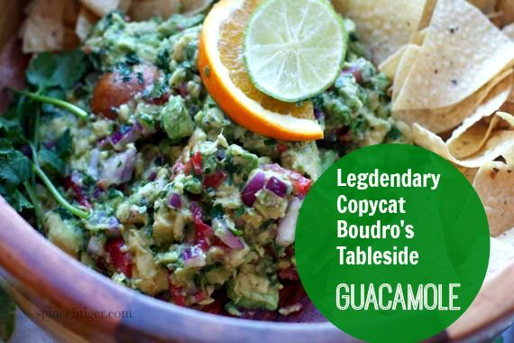 Authentic Copycat Boudro's Guacamole by Angela Roberts or the story about how my ex boyfriend nearly had me killed.