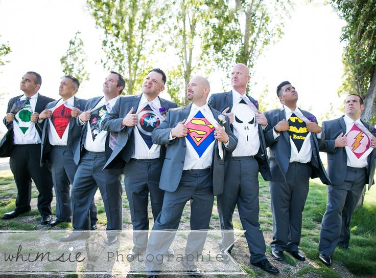 guys posing, groom and groomsmen super heros, international wedding photographer, wedding posing ideas