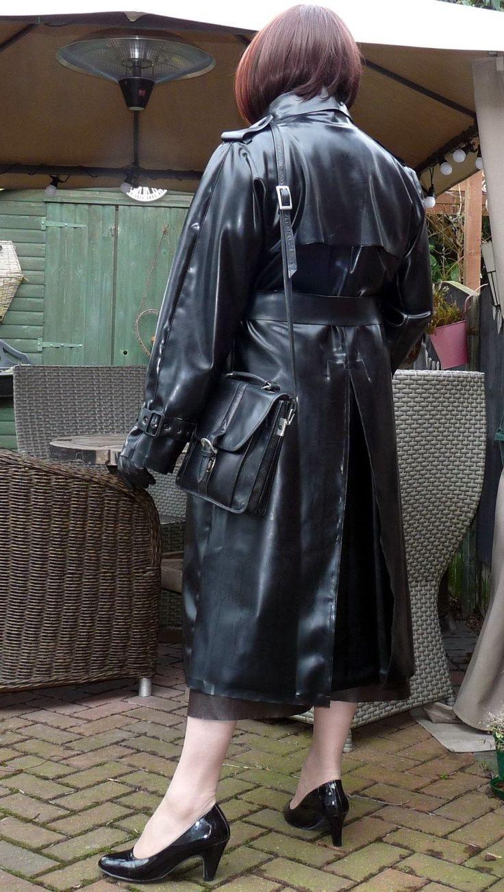 Weather Vain ex heavy latex rubber raincoat mackintosh special order model black | eBay