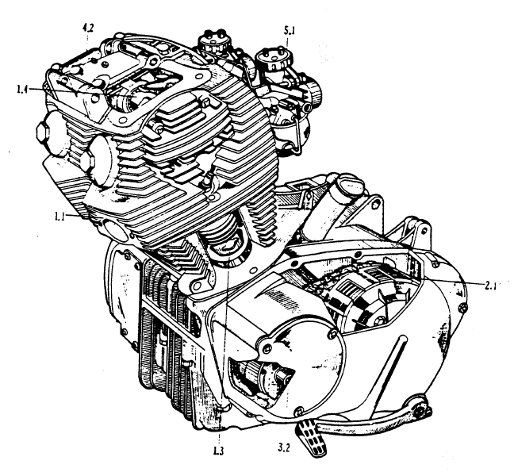 41fc6c9632853ea520e86081fa4ba11c engine repair motor engine 83 best images about honda rebel on pinterest,85 Honda Rebel Wiring Diagram