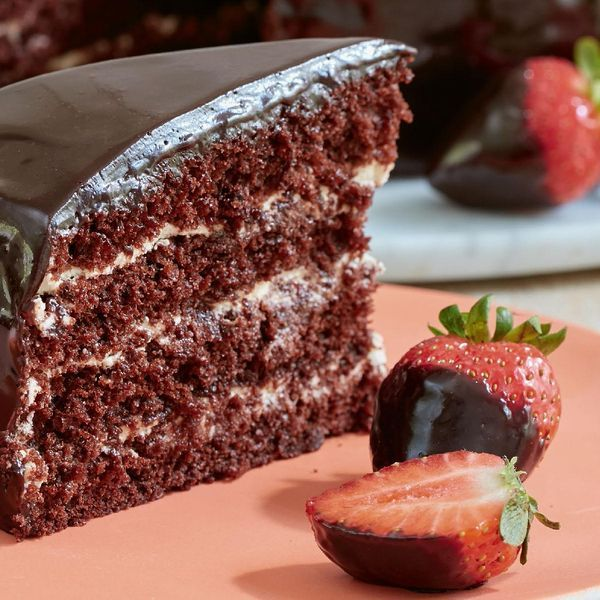 Mary Berry presents her impressive Chocolate Reflection Cake from her BBC 2 Series and cookbook, Mary Berry Everyday. A delicious recipe to serve at afternoon tea.