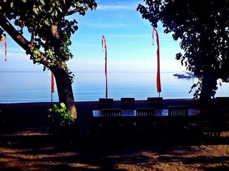 Saturday morning at Adi Assri Pemuteran, Bali. #RoadTrip