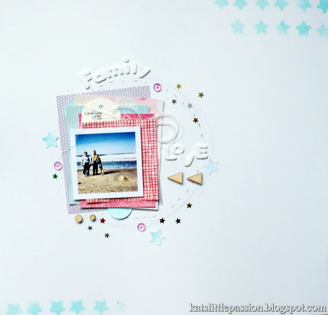 #layout #scrapbooking #holidays #family #love