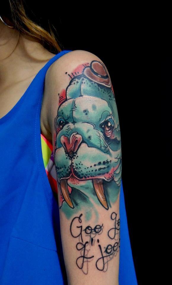 Tattoo - artist Daniel Acosta Leon!