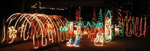 Extraordinary Christmas Rope Light Design