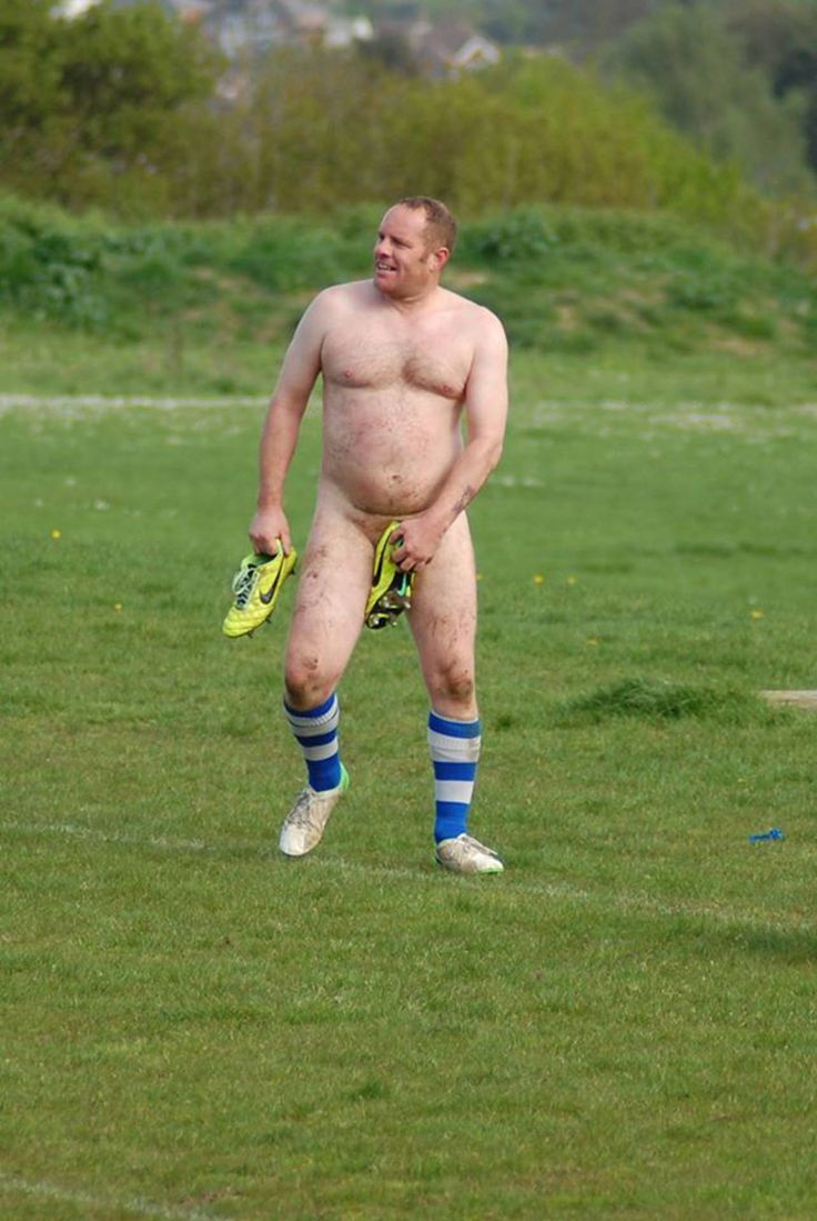 Rugby players, hairy chests, locker rooms and jockstraps Rugby Player and Fan