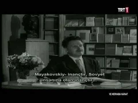 Ve Merhaba Kainat - Nazım Hikmet - YouTube