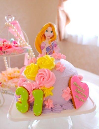 ラプンツェルケーキ ドールケーキ by あやもこさん | レシピブログ ...