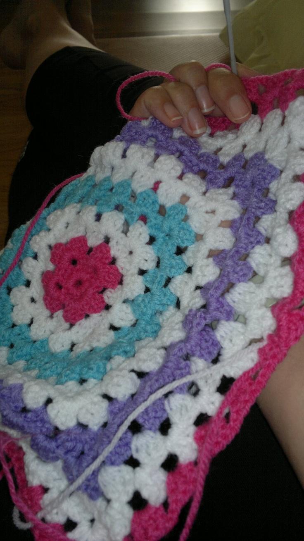 crochet love in progress