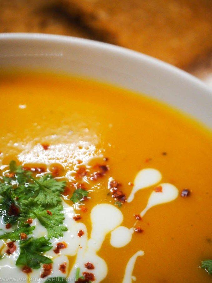 Schnell gemacht: Süßkartoffel-Kokos-Suppe