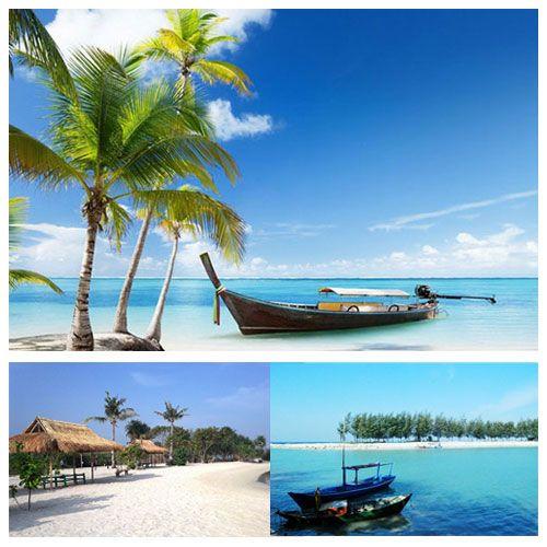 Serunya Berwisata ke pantai Pari selama 2 Hari 1 Malam dengan paket liburan murah HANYA Rp. 354ribu