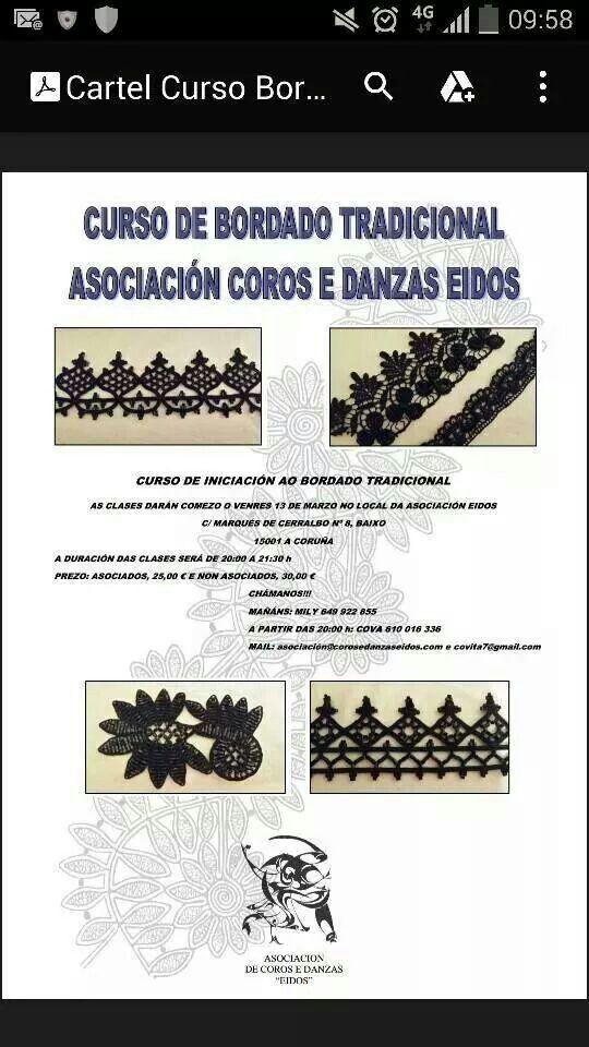 Bordado tradicional galego