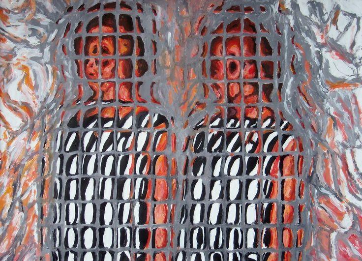 Paolo Avanzi. Coppia di gemelle