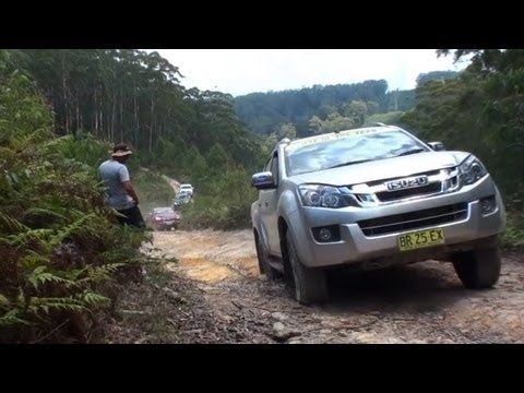 Isuzu D-Max bets pick-up fo the year - watch the video of the Australian competition by 4WD Magazine
