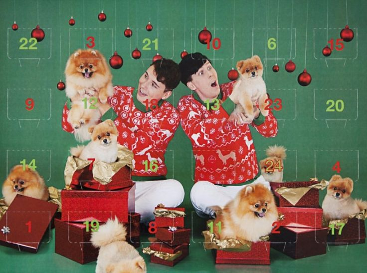 the worldwide store also has a pom-tastic chocolate advent calendar to count down to xmas!