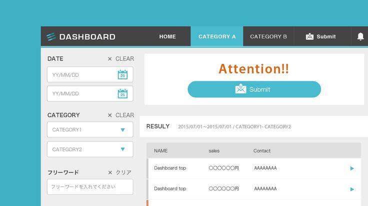 フリーランス Webデザイナー MK1221 Blog - おもにボタンデザインに機能上の意味をもたせて仕上げるWebデザイン手法