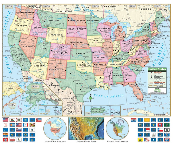 Best Maps Images On Pinterest Places Geography And Middle East - Map of the us geographic features