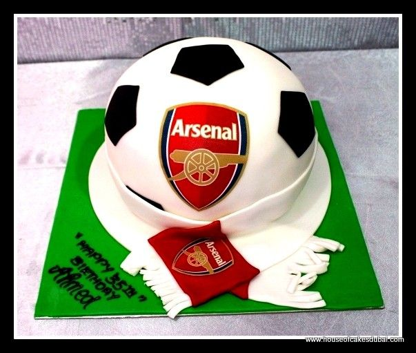 ... Arsenal Cakes on Pinterest  Arsenal fc, Birthday cakes and 21st cake