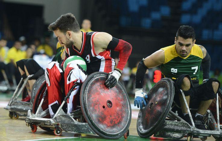 Aquecimento Olímpiadas: Evento-teste no RJ com seleções de Rugby em cadeira de…