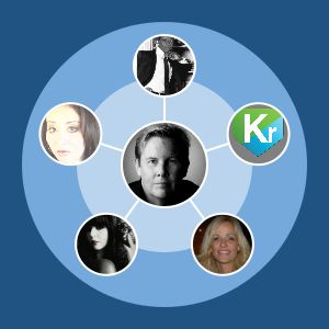 My inner circle on Twitter visualized.  See if you're on there, then map your own with Vizify.